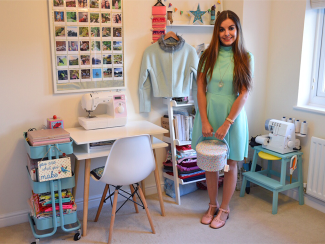 Sewing Space Tours... Jade's Kitsch Haven!