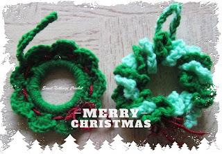 crochet xmas accessories