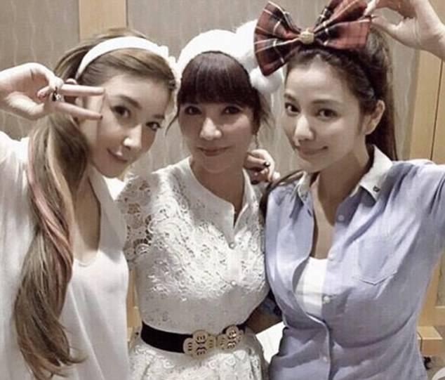 keluarga Lure Hsu,fayfay hsu dan sharon hsu