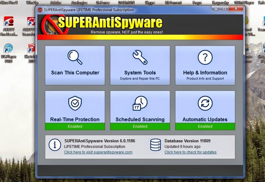 Superantispyware product key