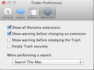 MacOS Finder prefs