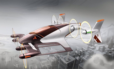 Airbus i els seus taxis aeris autònoms