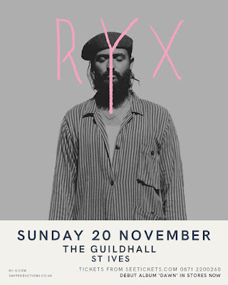 RY-X - Sun 20th November - St Ives Guildhall