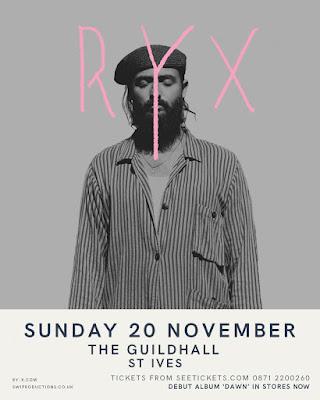 RY-X - Sun 20th November - St Ives Guildhall
