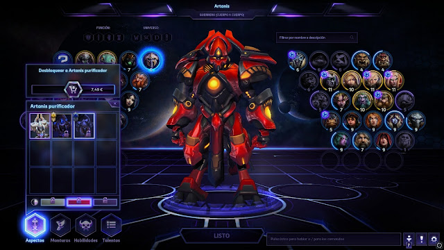10 Easter Eggs de Heroes of the Storm - Artanis EVA 02