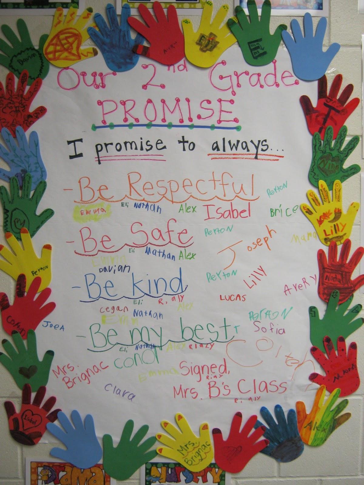 Brignac S Brightest Our Second Grade Promise