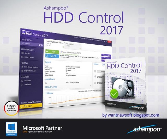 Ashampoo HDD Control 2017 Image