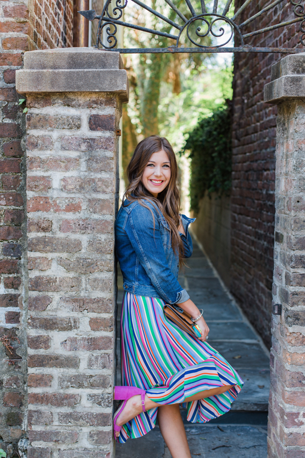A New Day Rainbow Skirt