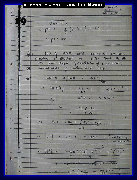 Ionic Equilibrium Notes3