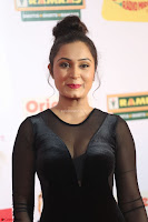 Vennela in Transparent Black Skin Tight Backless Stunning Dress at Mirchi Music Awards South 2017 ~  Exclusive Celebrities Galleries 092.JPG
