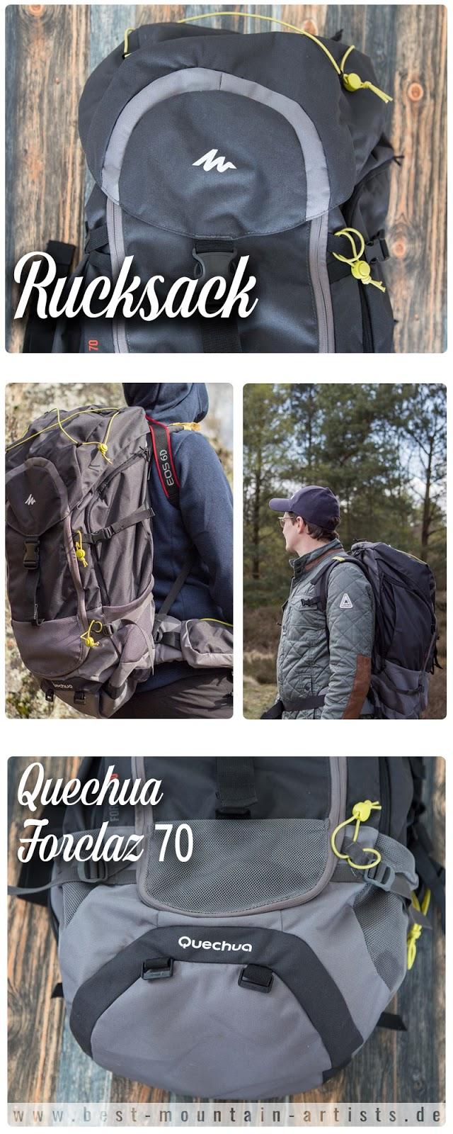 Rucksack Forclaz 70 Quechua