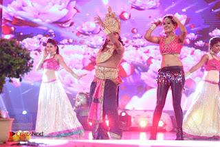 Actress Nisha Dance Performance Stills at Janatha Garage Movie Audio Songs Release Function 0011