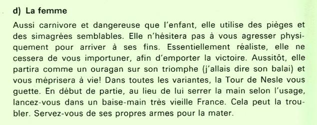 Source : Claude SANTOY — Le guide des Échecs (Paris Fernand Nathan, 1980)