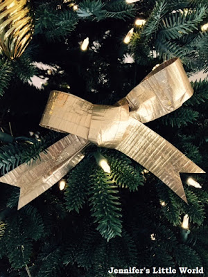 Christmas crafts using Festive Duck tape