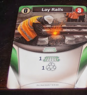 Lay Rails Trains Starting Card AEG