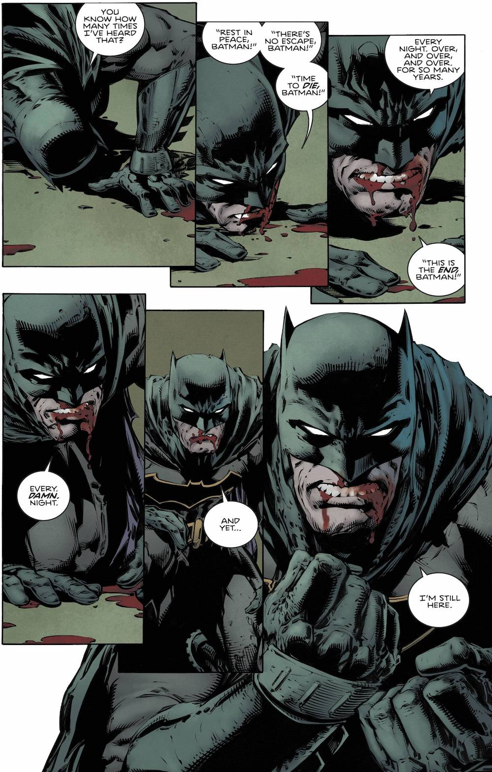 This is Why Batman Is so badass