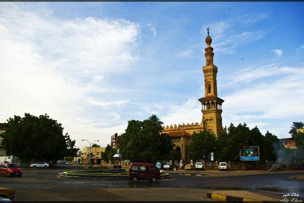 صورة مسجد من العاصمة السودانية الخرطوم