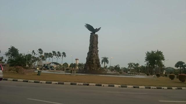 The Eagle Statue Circle Hang Nadim Batam Airport