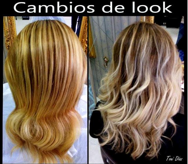 Cambio look Toni Diaz