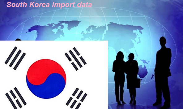 South Korea import data