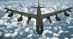 B-52 bomber excluded from drills