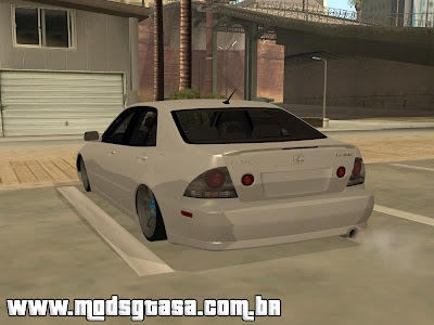 Lexus IS300 Rstyle para GTA San Andreas