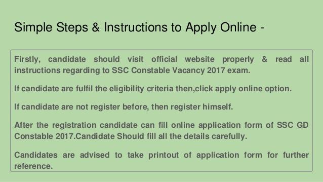 Exam instruction