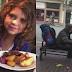 Menina de 8 anos sai do restaurante e oferece a sua comida a um sem-abrigo