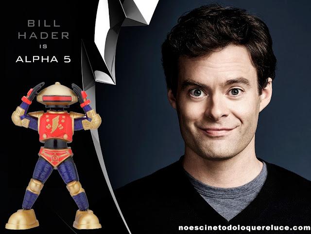 Bill Hader será la voz de Alpha 5 en el remake de 'Power Rangers'