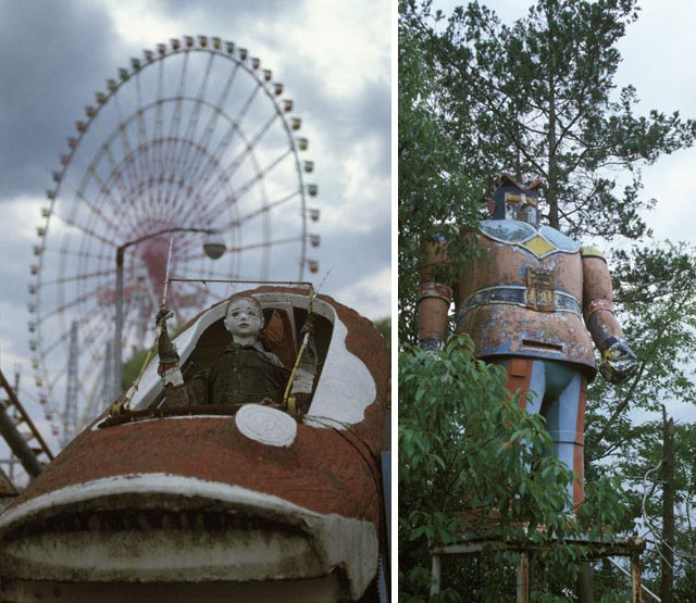 haunted amusement park,Takakonuma park, abandoned amusement park