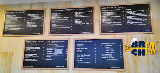 La Tapenade Mediterranean Cafe Menu