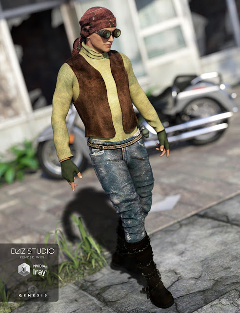 Rough Rider Male Textures