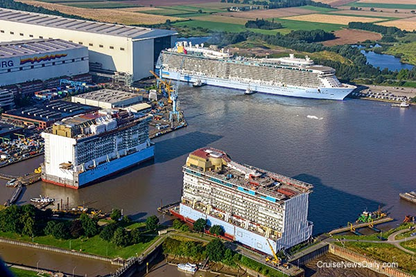CND's Cruiseblogger: Quantum of the Seas Floats OutQuantum Of The Seas Float Out