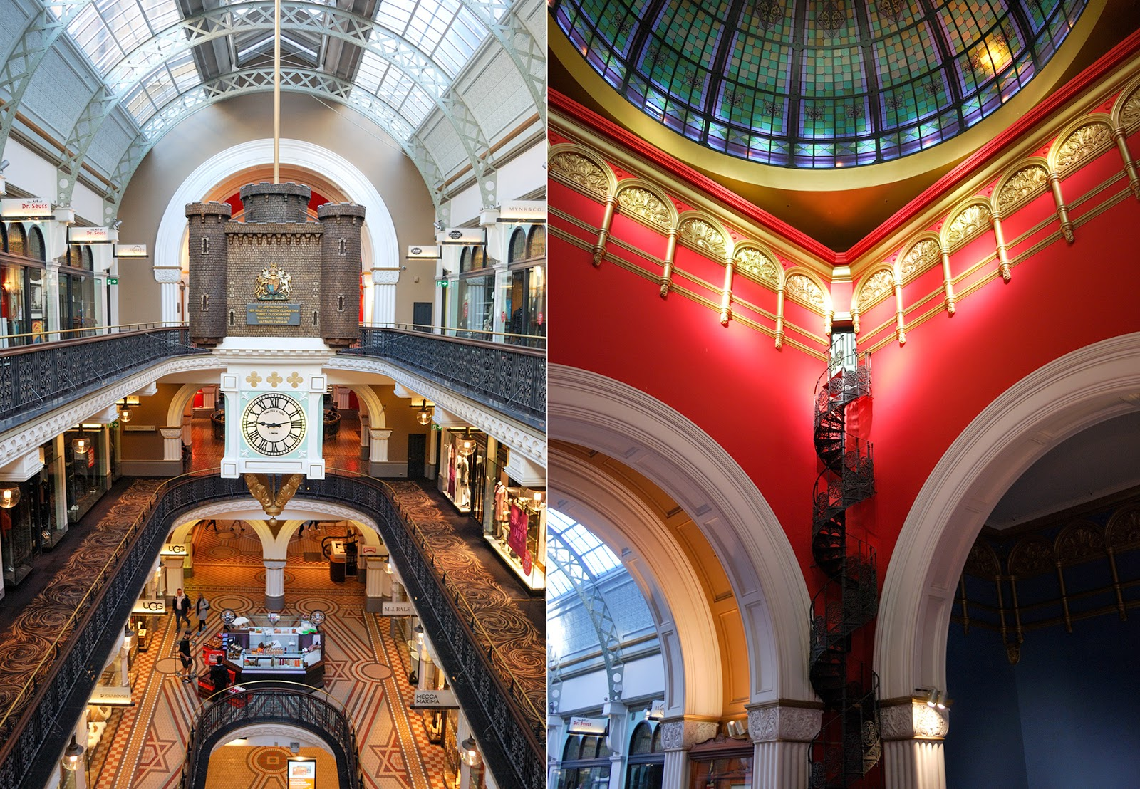 queen victoria building qvb sydney australia