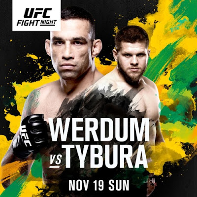 Poster Of UFC Fight Night 121 19th November 2017 HDTV 480P 300MB