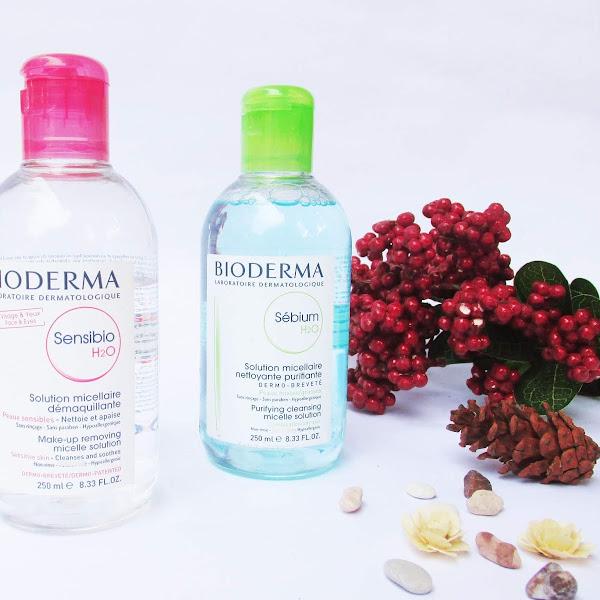 Review Bioderma Sensibio and Seblum Micellar Water