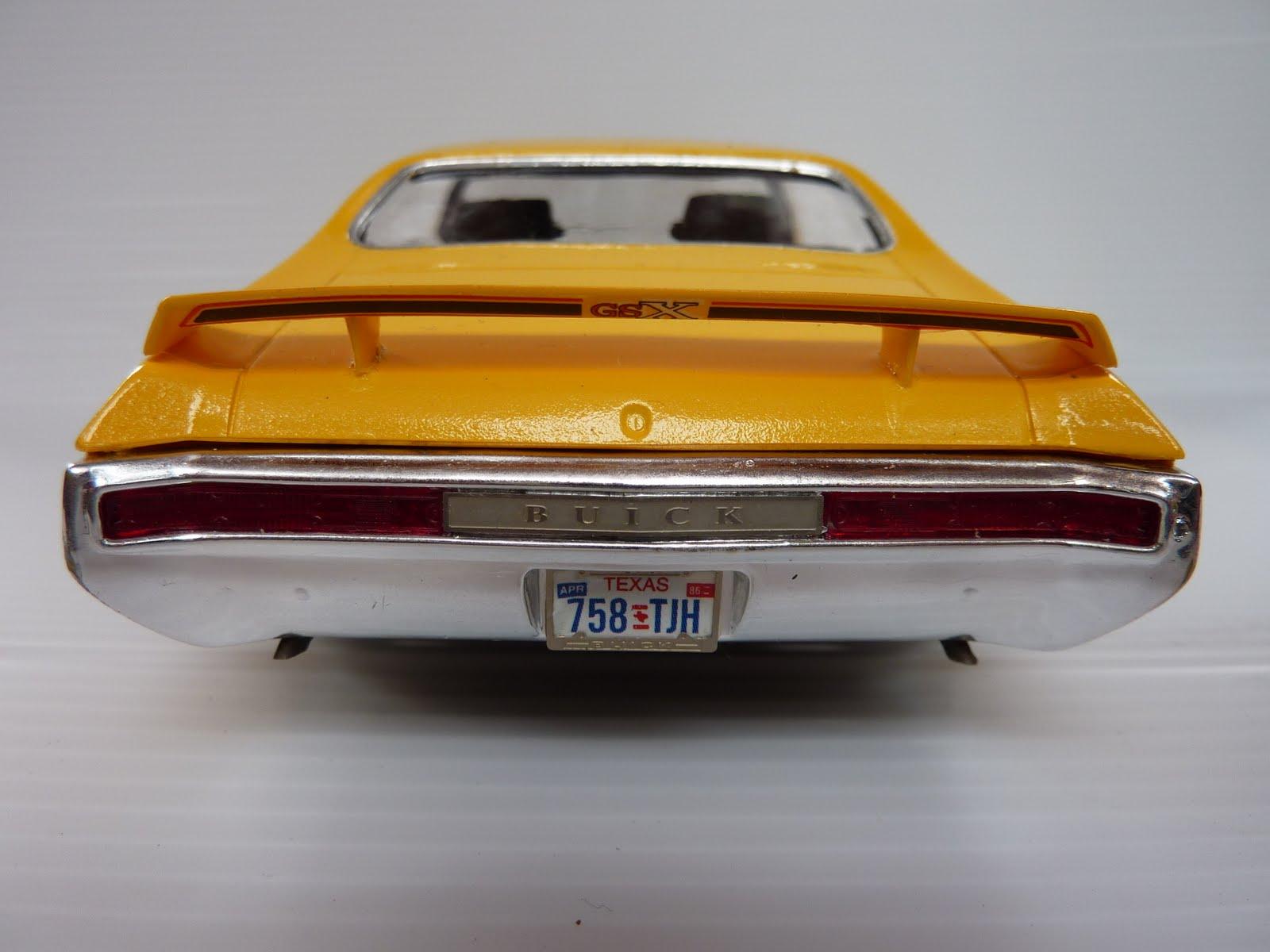 scale dreams: The 1970 Scale Dream Buick GSX