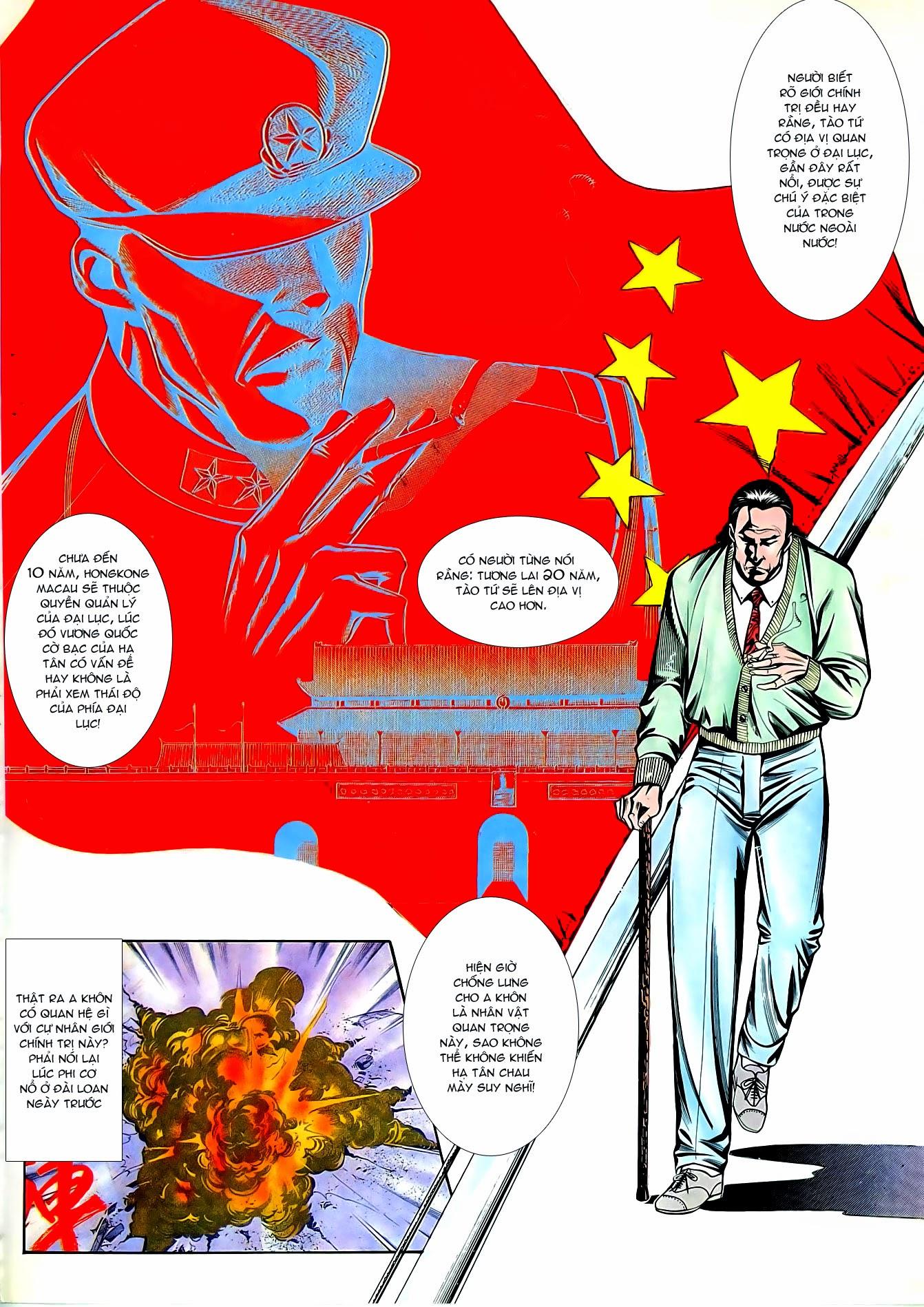 Người Trong Giang Hồ chapter 87: chống lưng của a khôn trang 16