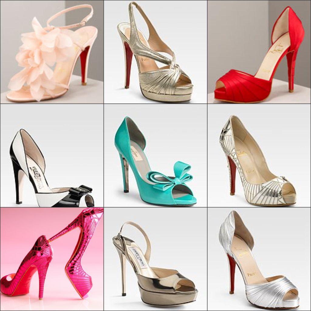 Sapatos femininos para festas de casamento em diversos estilos e modelos 2a003658a9