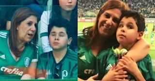 Μάνα πηγαίνει στο γήπεδο Με το τυφλό και αυτιστικό παιδί της και του περιγράφει τον αγώνα