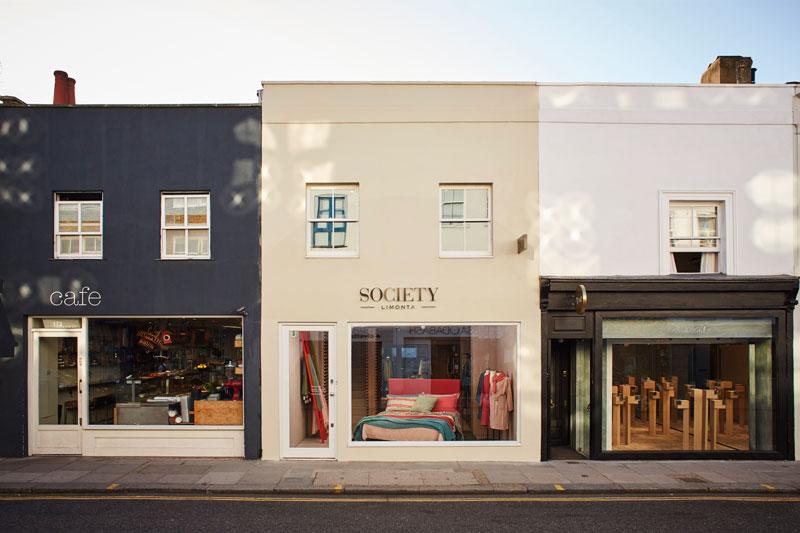 Society Limonta store Londra