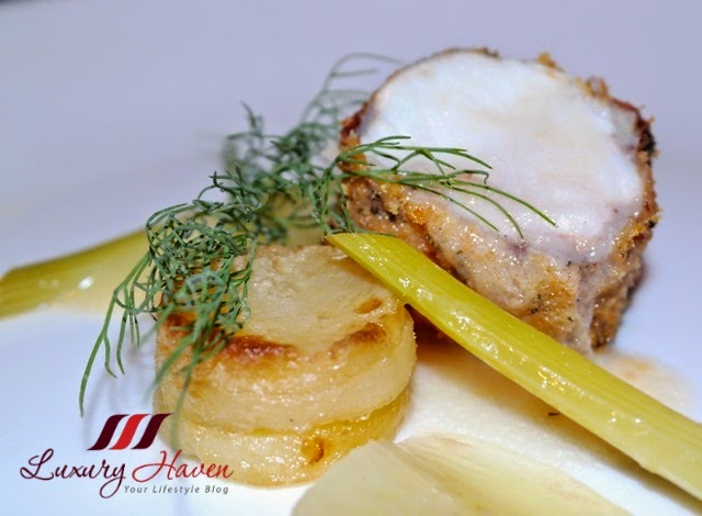 gaia ristorante bar oven baked monkfish review