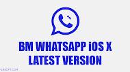[UPDATE] Download BM WhatsApp iOS X v8.27 Latest Version
