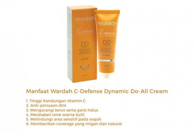C-Defense Dd Cream Wardah Untuk Mencerahkan Kulit