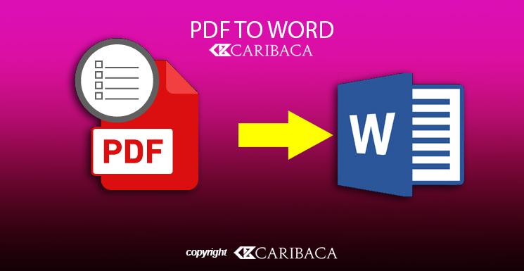Cara Mengubah File Pdf ke Word Tanpa Aplikasi
