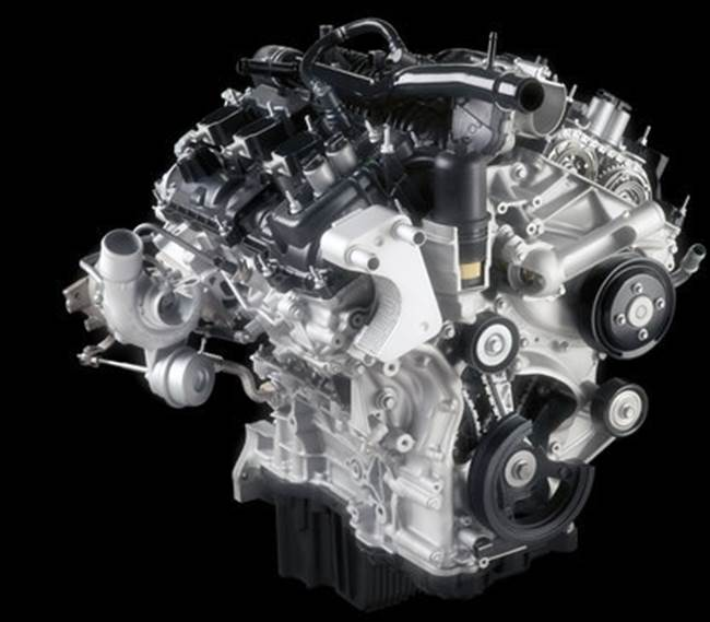 2018 Ford Ranger Diesel Engine