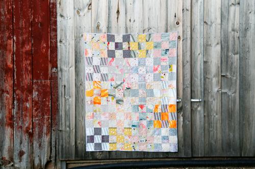 Nani Iro Dreams Quilt - In Color Order
