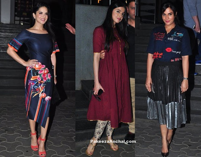 Bollywood Celebrities at Dangal Movie Screening Actress