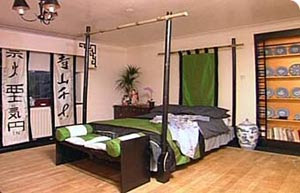 the shopping online chambre minimaliste d coration du design japonais. Black Bedroom Furniture Sets. Home Design Ideas