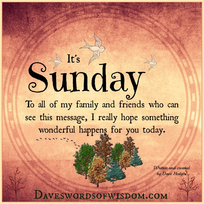 A Blessing For Sunday